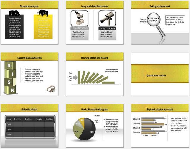 PowerPoint Market Analysis Charts 2