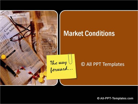 Market Condition Title slide