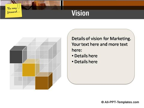 Market Condition Cube Vision Slide
