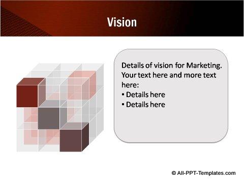 Cube Vision Slide