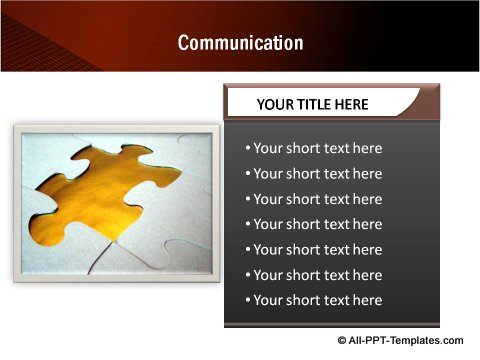 Communication text boxes