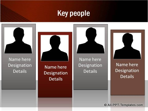Key People Org Chart