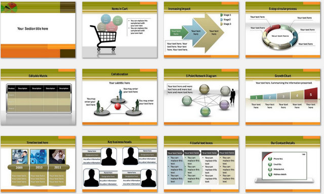 PowerPoint Mobile Services Charts 2