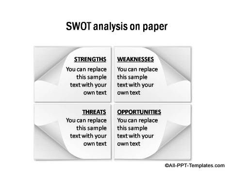 PowerPoint SWOT 04