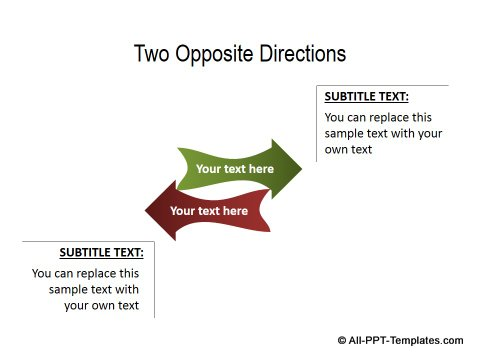 PowerPoint Opposite Directions Template 08
