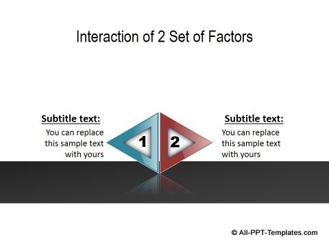 PowerPoint Opposite Directions Template 17