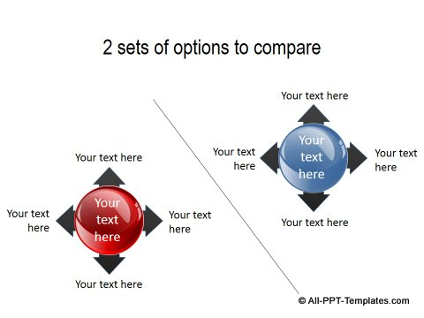 PowerPoint Opposite Directions Template 28