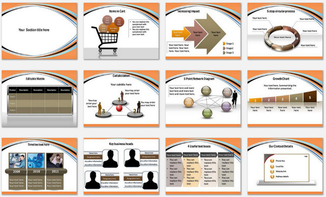 PowerPoint Social Charts 2