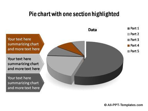 PowerPoint pie chart 08