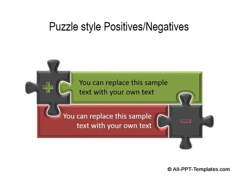 PowerPoint Positive Negative Comparisons 02