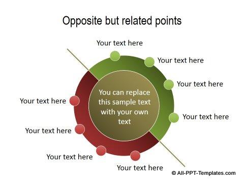 PowerPoint Positive Negative Comparisons 13