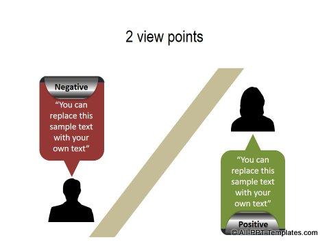 PowerPoint Positive Negative Comparisons 19