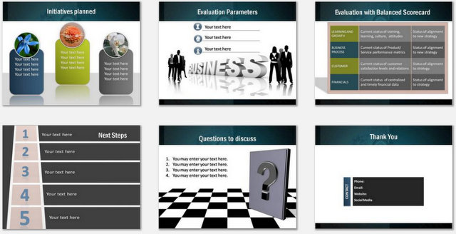 PowerPoint Professional Strategy  Charts 03