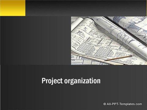 Pptx Project Blueprint  Sub-Title header