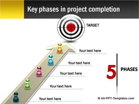 Pptx Project Blueprint Target Chart