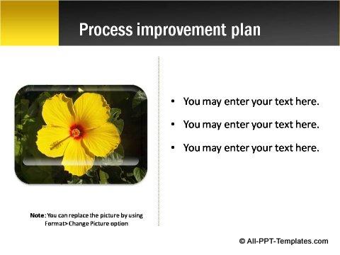 Pptx Project Blueprint slide text