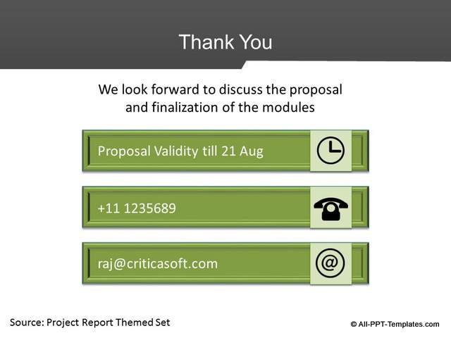 PowerPoint Project Proposal Makeover : After Slide 09