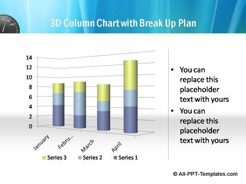 Pptx Project Speed Report  column chart