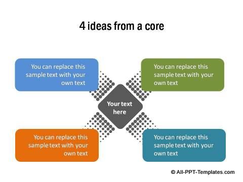 Powerpoint quadrant template page 1 powerpoint quadrant 09 toneelgroepblik Image collections