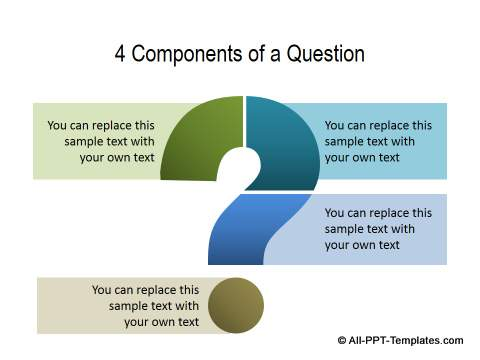 Powerpoint questions slide templates for Powerpoint questions and answers template