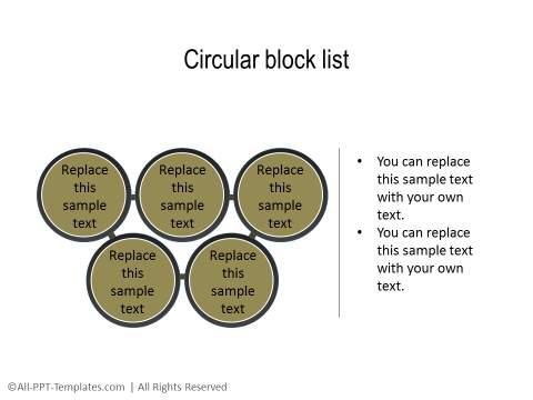 PowerPoint Relationship Diagram 07