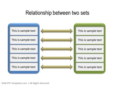 PowerPoint Relationship Diagram 18