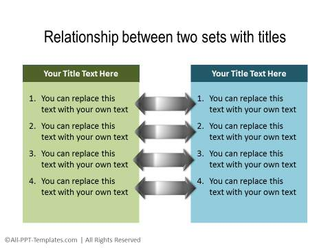 PowerPoint Relationship Diagram 19