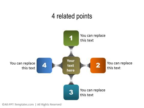 PowerPoint Relationship Diagram 25
