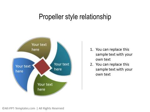 PowerPoint Relationship Diagram 31