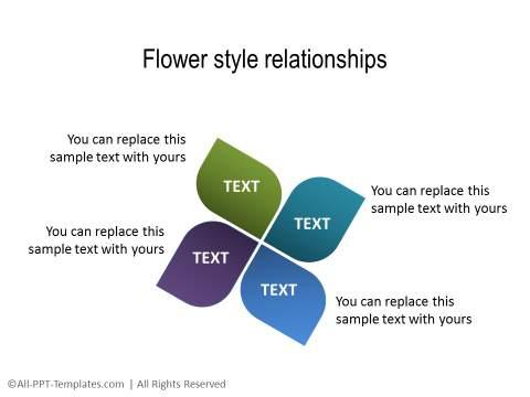 PowerPoint Relationship Diagram 32
