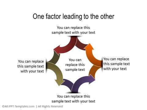 PowerPoint Relationship Diagram 36