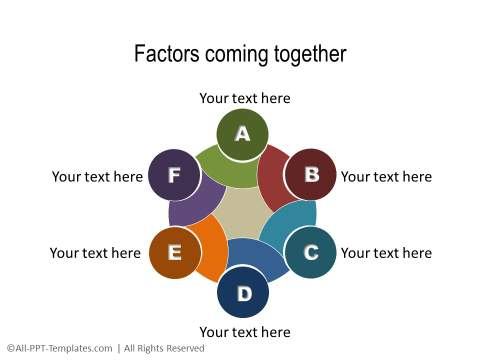 PowerPoint Relationship Diagram 40