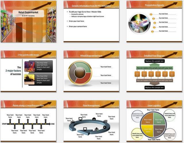 Powerpoint retail supermarket template powerpoint retail supermarket charts 01 toneelgroepblik Choice Image