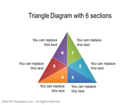 Triangle Diagram with 6 Sides