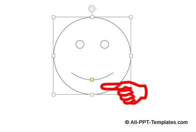 PowerPoint Smiley Shape