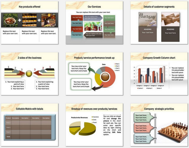 PowerPoint Smoky Intro Charts 2