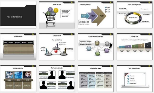 PowerPoint Software Processing Charts 2