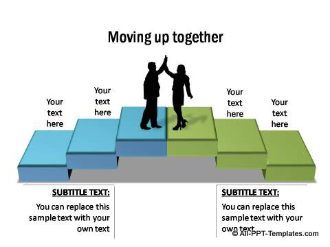 Moving together steps from All Inclusive Pack