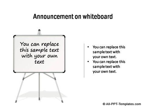 PowerPoint Announcement 12