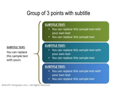 PowerPoint Text with Title 06