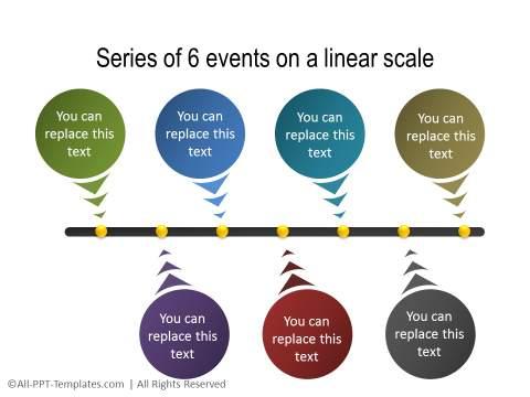 PowerPoint Linear Timeline 06