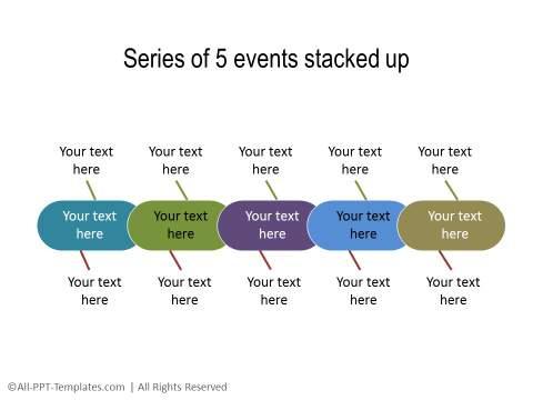 PowerPoint Linear Timeline 14
