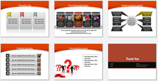 powerpoint training development template