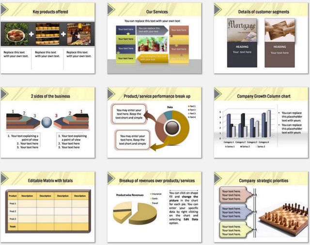 PowerPoint Wall Intro Charts 2