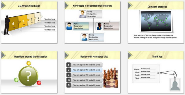 PowerPoint Wall Intro Charts 3