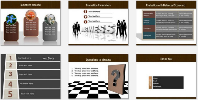 PowerPoint World Strategy Charts 03