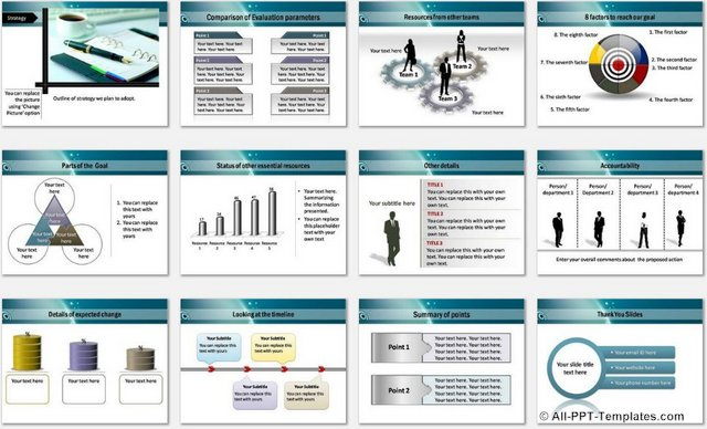 powerpoint theme vs template - powerpoint achieving target template