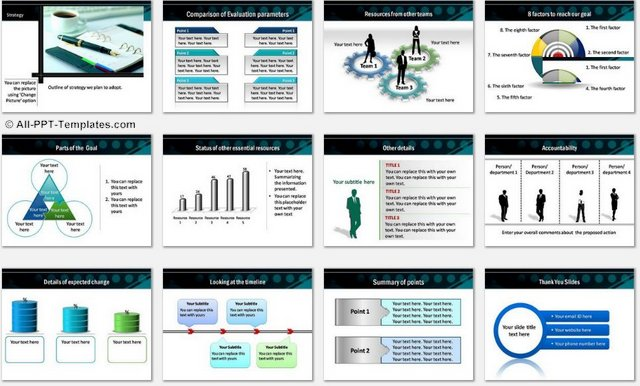 PowerPoint Periodic Reporting Charts 2