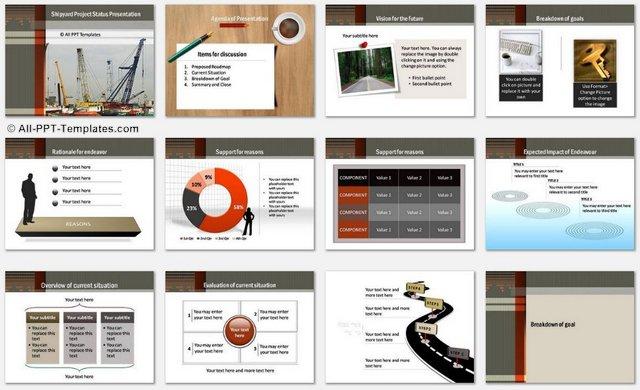 PowerPoint Shipyard Charts 1