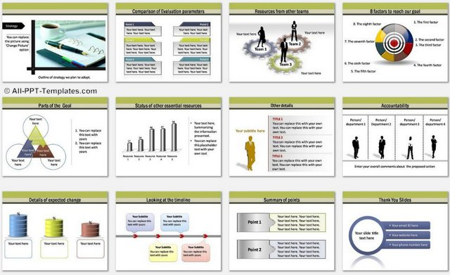PowerPoint Transport charts 2